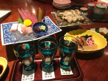 【富山グルメ旅その3】新富町の海鮮居酒屋いろりでホタルイカと寒ブリで酒を飲む